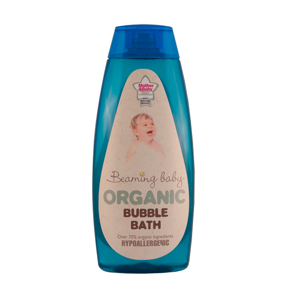 Beaming Baby Certified Organic Bubble Bath 250ml