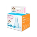 Lifefactory Stage 1 Nipples 0-3 month (pack of 2)
