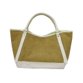 Jute Fashion Tote Bag