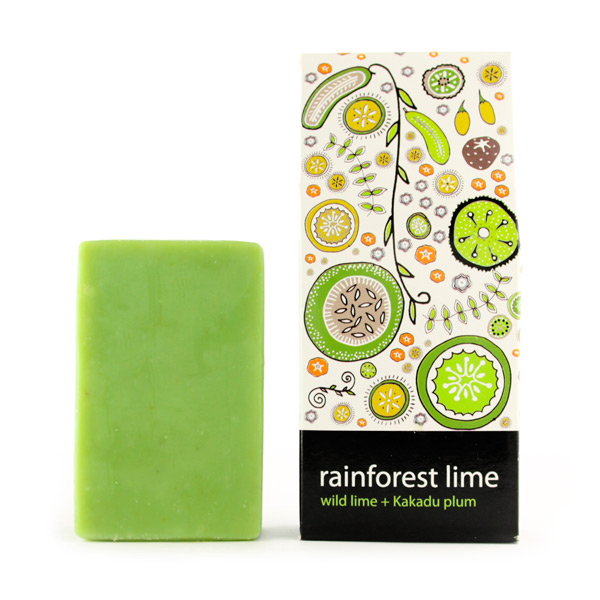 Gift Pouch Soap - Rainforest Lime