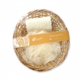 Loofah Willow Basket Bath Set (3 in 1)