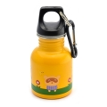 Cartoon Series Kids Stainless Steel Drinking Bottle (130ml) - Orange