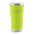 Stainless Steel Double Wall Heat Insulated Cup - Green